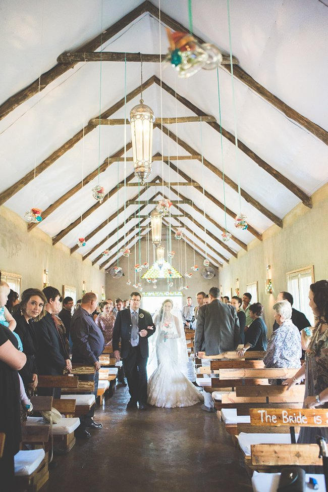 DIY Teal Turquoise Peach Vintage South African Wedding (77)
