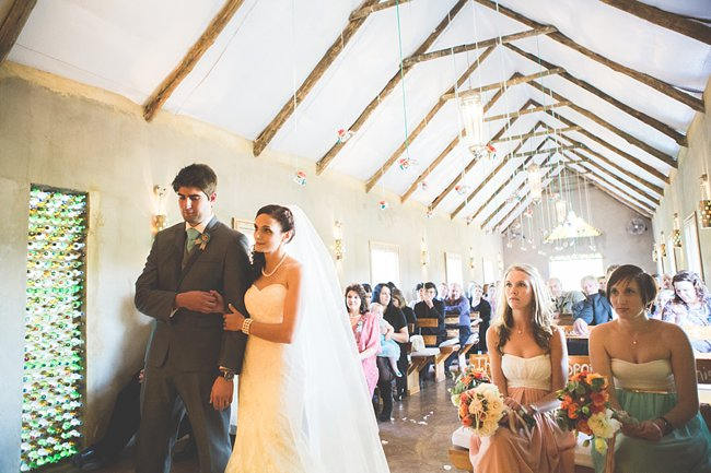 DIY Teal Turquoise Peach Vintage South African Wedding (78)