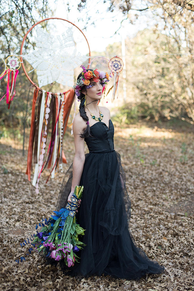 Purple Orange and Yellow Gypsy Wedding Ideas // Memory Box Photography