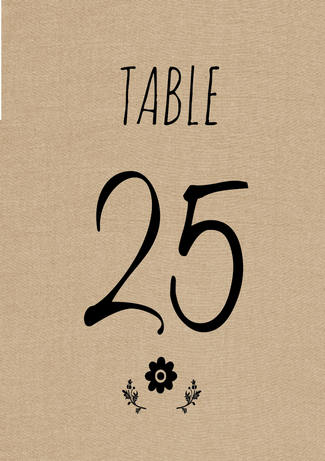 picture regarding Free Printable Table Numbers known as Lovable Rustic Do-it-yourself Desk Selection Down load