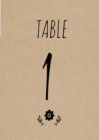 image regarding Free Printable Table Number known as Adorable Rustic Do-it-yourself Desk Range Down load