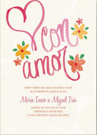 Gorgeous Watercolor Wedding Invitations_ 3