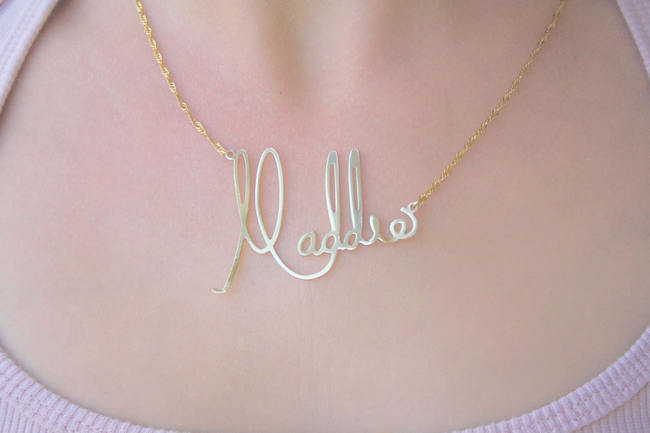 14 Amazing Handwritten Jewelry Gift Ideas Using Your
