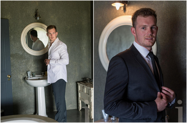 Groom Suit //  Modern Country Style Wedding Kleinplasie // Jo Ann Stokes Photography