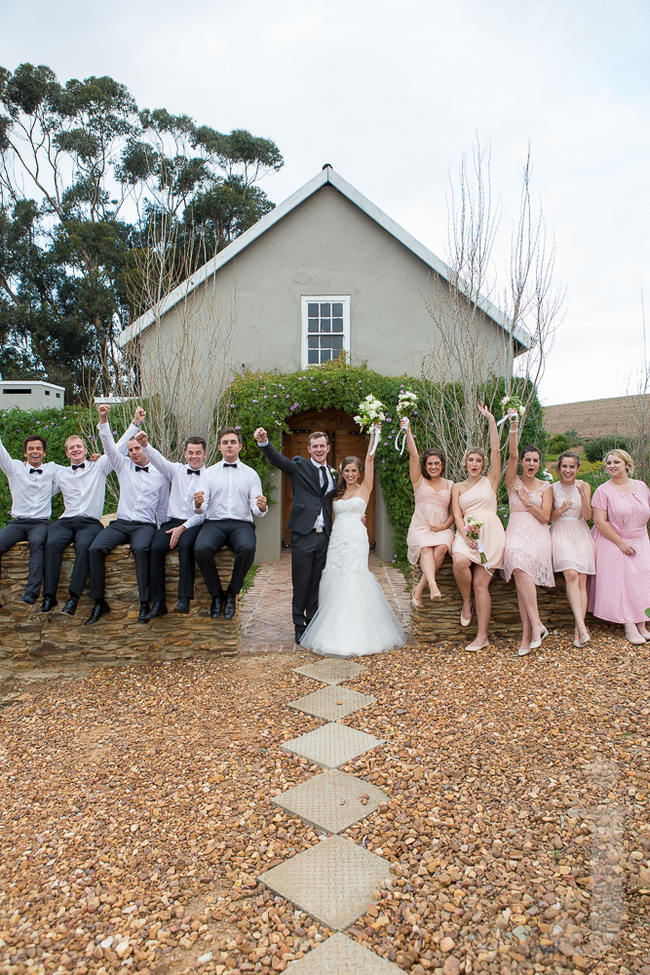 Modern Country Style Wedding Kleinplasie // Jo Ann Stokes Photography