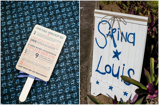 Beach Wedding Program and Sign // Nautical Beach Wedding Ceremony in Coral and Navy  // Jack and Jane Photography