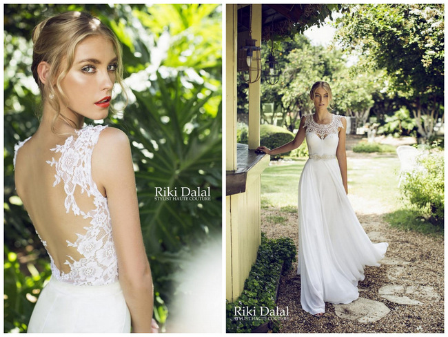 Strikingly Seductive Elegance: Riki Dalal Wedding Dress Collection