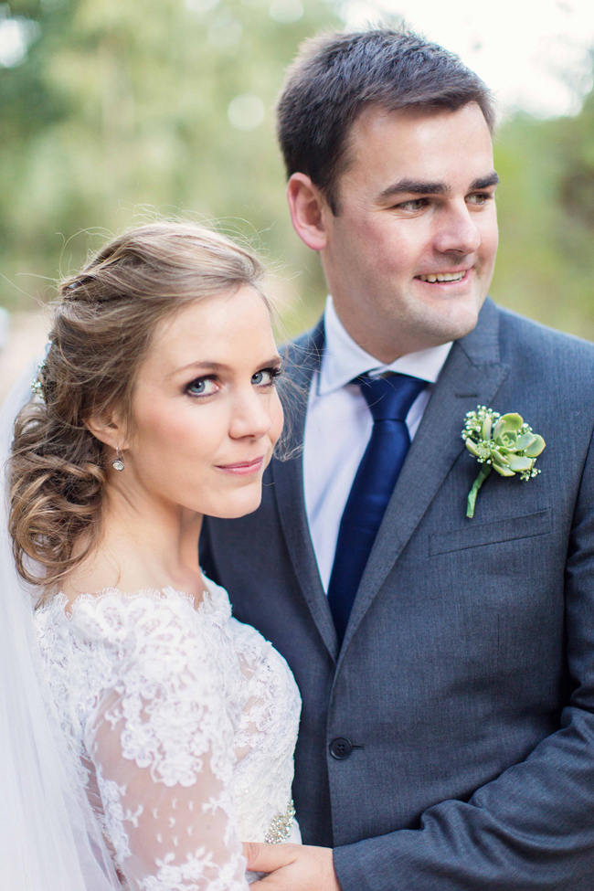 Couple Photographs // Rustic South African Farm Wedding in Peach // Marli Koen Photography