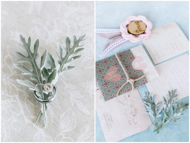Wedding Stationery  // Vintage Chic Barn Wedding // Louise Vorster Photography