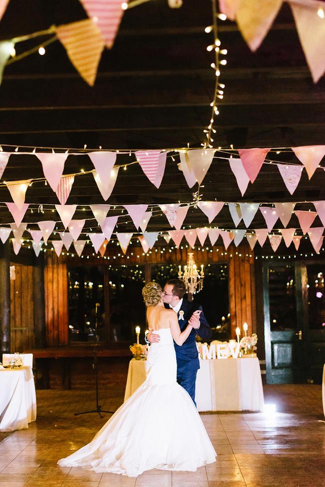 Vintage Chic Barn Wedding Reception // Louise Vorster Photography