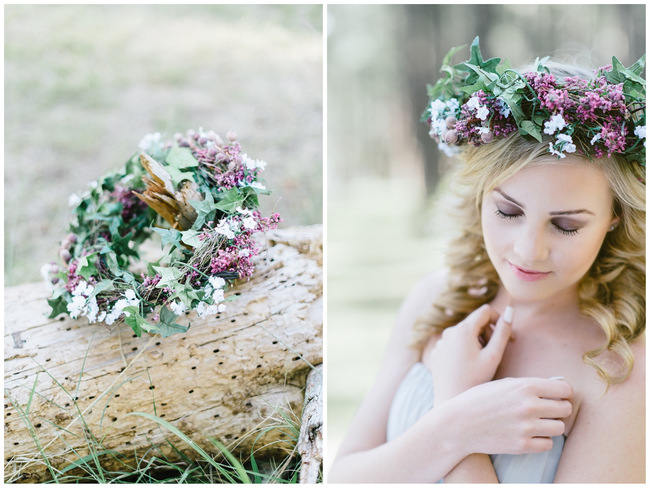 Supremely Gorgeous Whimsical Boho Forest Engagement {Louise Vorster Photography}