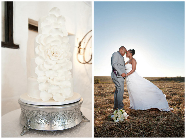 Crisp White Green & Silver South African Wedding {Samantha Du Toit Photography}