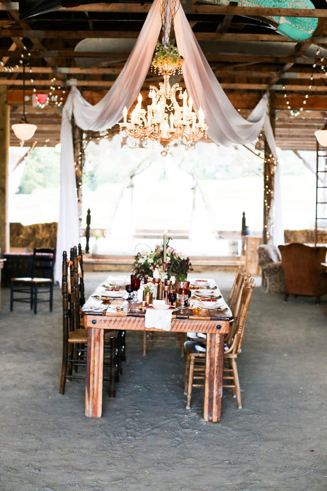 Autumn Barn Wedding Seneca Lewis Photography