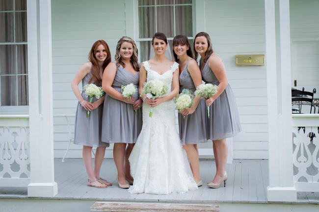 DIY Babys Breath Country Wedding // Stephanie Dishman Photography