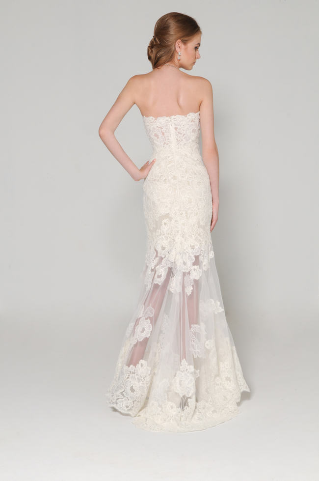 11 super stunning lace back wedding dresses for We buy wedding dresses