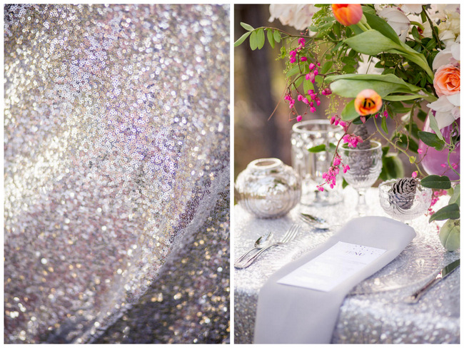 Glitter Wedding Ideas // Tasha Seccombe Photography