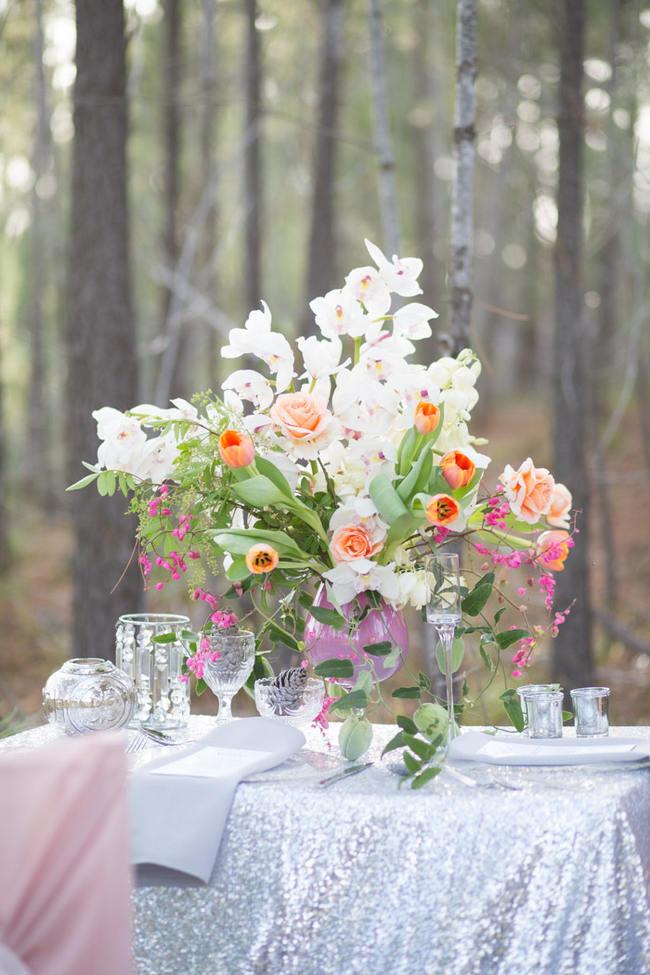 Glitter Wedding Ideas // Tasha Seccombe Photography