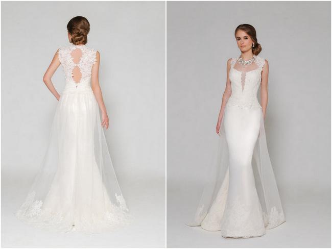 Lace Back Wedding Dress (1)