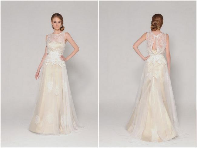 Lace Back Wedding Dress (18)