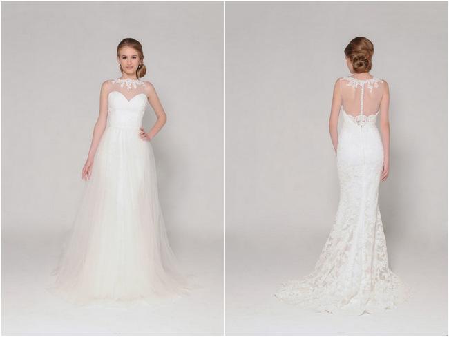Lace Back Wedding Dress (21)