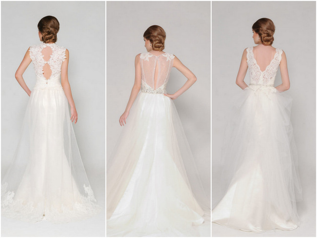 11 Stunning Lace Back Wedding Dresses for 2015