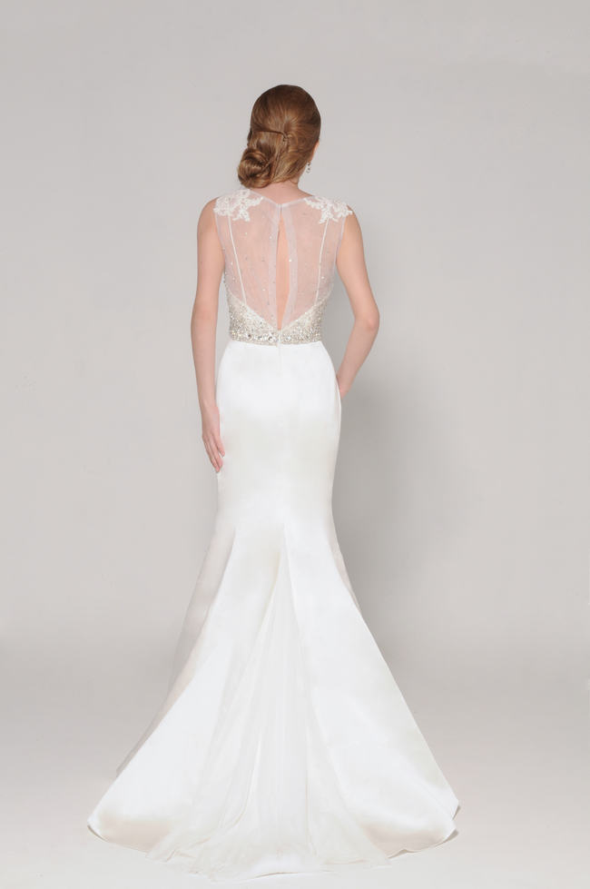 Lace Back Wedding Dress (4)