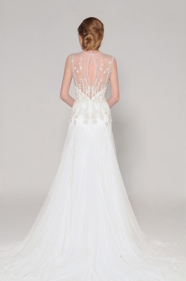 Lace Back Wedding Dress (6)