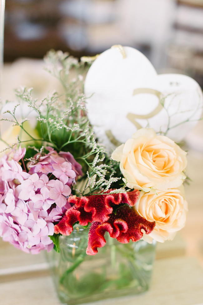 Yellow and Lavender Wedding Flowers //  Mint Coral South African Wedding // Louise Vorster Photography