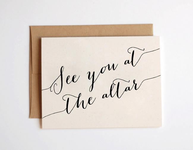 15 Super Sweet Groom Cards for Hubby on Your Wedding Day