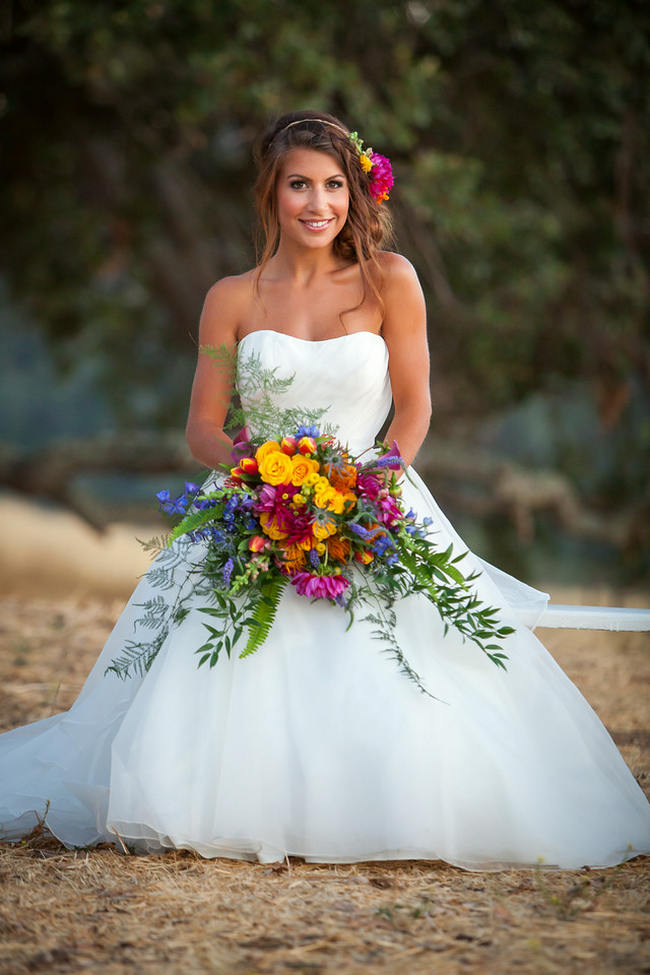 Western Style Wedding Dresses 14 Fabulous Tropical Flowers Tropical Wedding