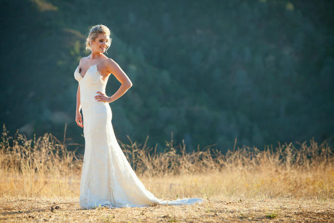 Wedding Dress by Tulle New York  // Colson Griffith Photography