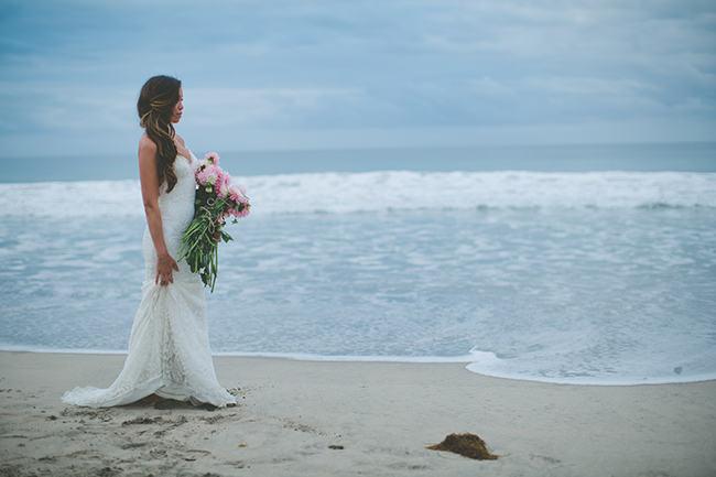 Backless Beach Wedding Dress 8