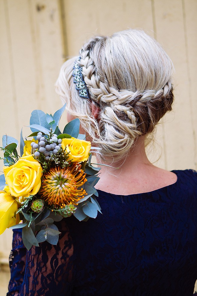 Bridemaids Wedding Hair Style - Miracles Photo
