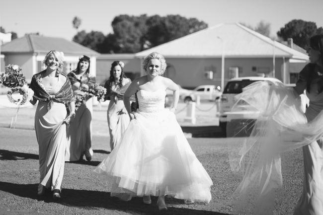 Beautiful Grey and Yellow Winter Wedding {Jenni Elizabeth Photography}