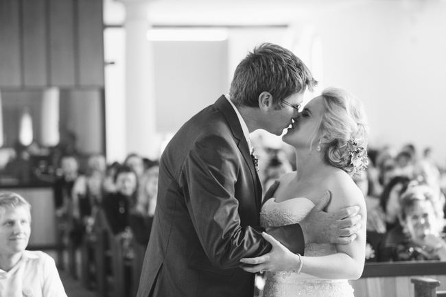 Beautiful Gray and Yellow Winter Wedding / Jenni Elizabeth Photography