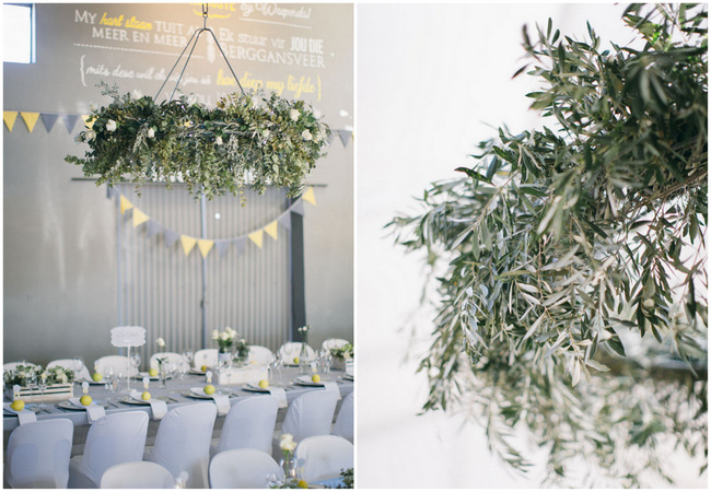 Beautiful Grey and Yellow Winter Wedding {Jenni Elizabeth Photography}