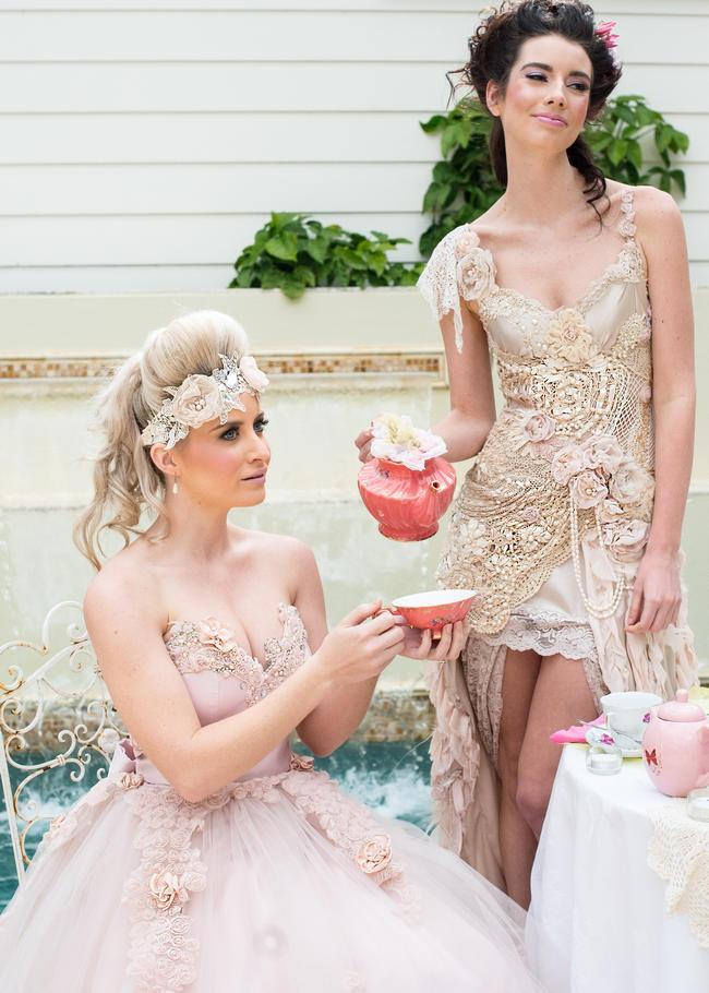 Vintage Marie Antoinette Wedding / Ninique Fashion Photography