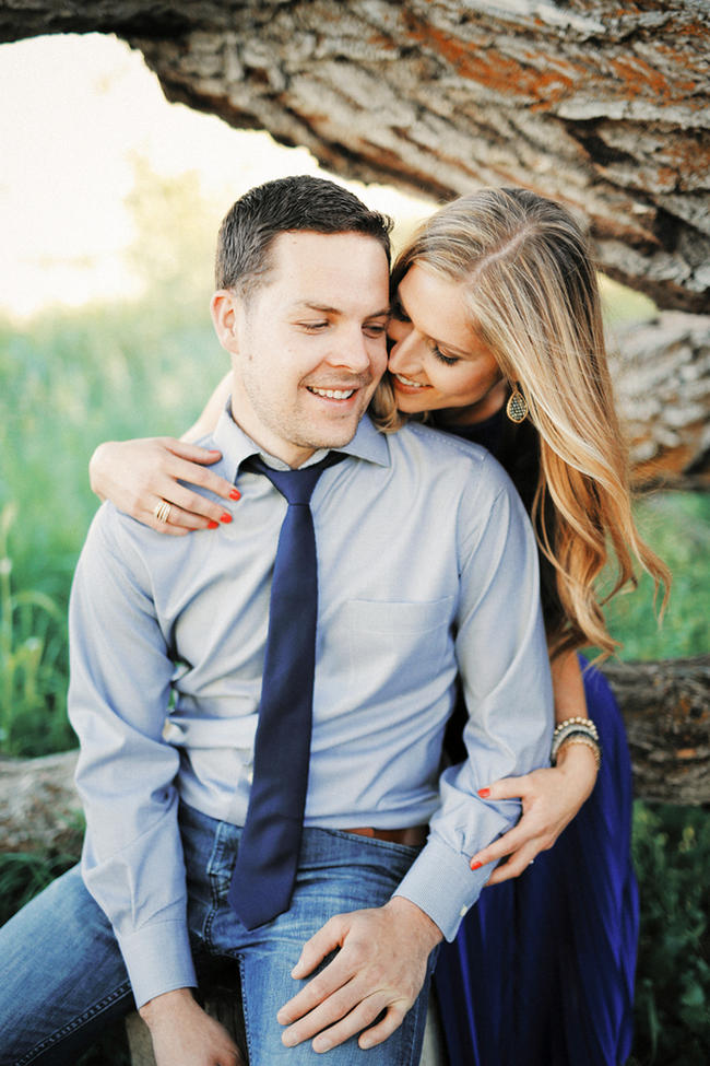 Beautiful Summer Engagement Photography // Gideon Photography