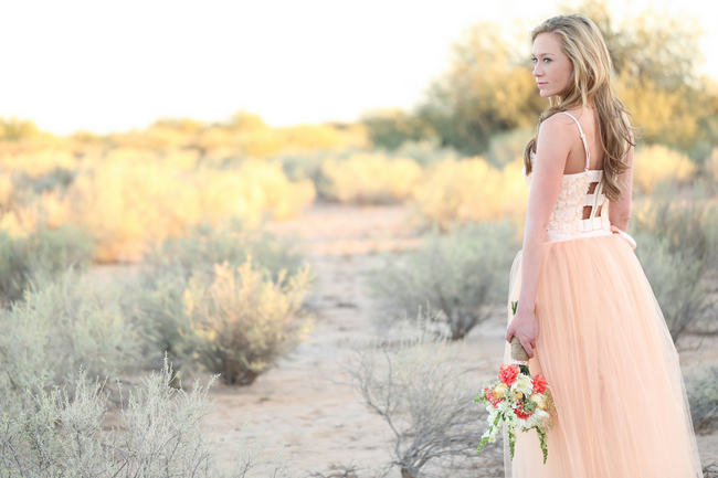 Whimsical Arizona Desert Engagement Shoot // Morgan McLane Photography