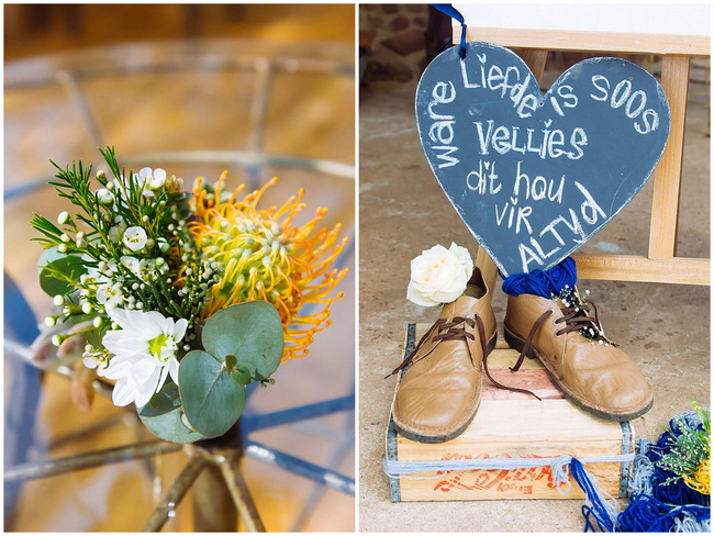 Yellow and Grey DIY Vintage Wedding // Miracles Photo