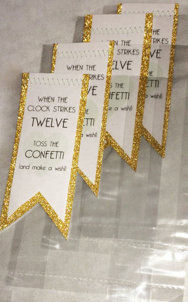 DIY New Years Party Ideas Gold (13)