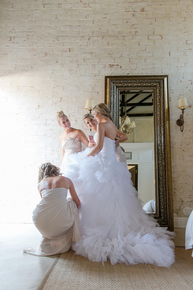 The girls, getting ready! // Lightburst Photography