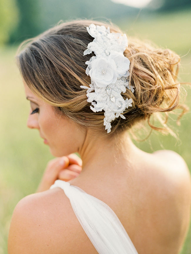 Fantastic How To Choose The Perfect Bridal Hairpiece Amp New Romantic Art Life Short Hairstyles For Black Women Fulllsitofus