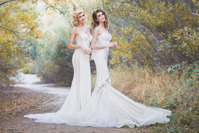 Glamorous Wedding Dresses. Brittany Berggren Photos