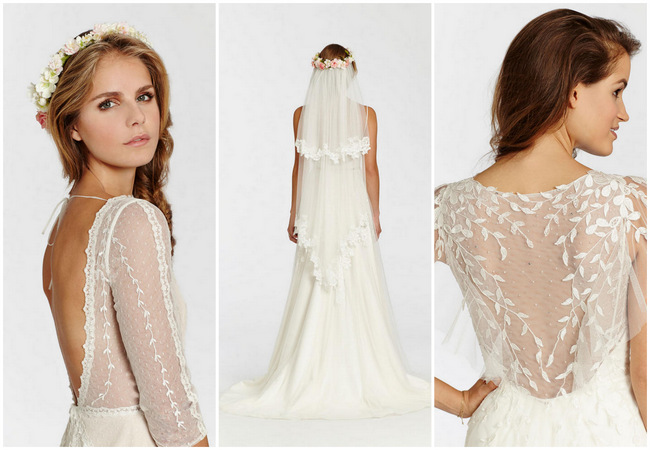 Boho Chic: Ti Adora Wedding Dress Collection {Spring 2015}