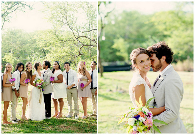 Relaxed Sage Green & Purple Rustic Maui Wedding {BellaEva Photography}