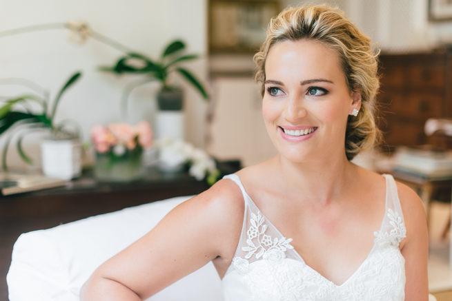 Lace wedding dress from Blush Bridal // Dehan Engelbrecht Photography