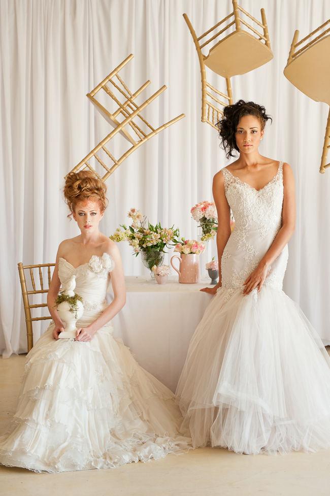 Blush Gold Whimsical Wedding 49