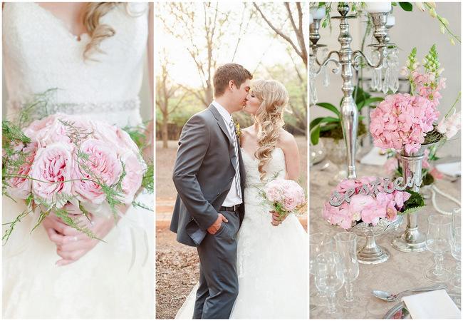 Blush Pink Spring Wedding