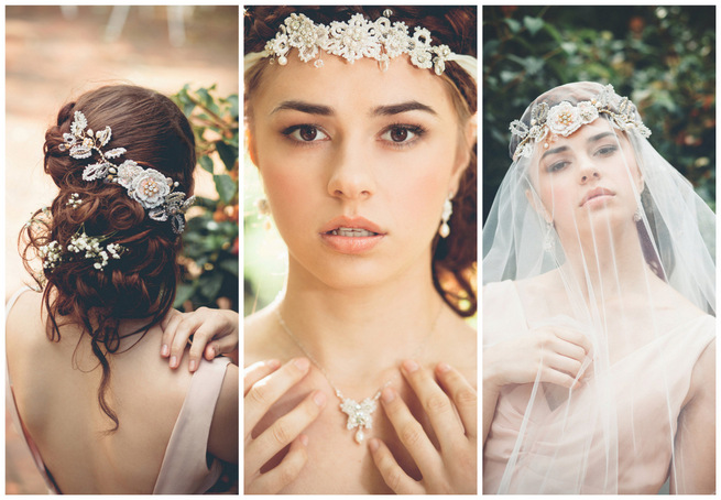 Bohemian Wedding Jewelry by Edera Jewelry La Candella